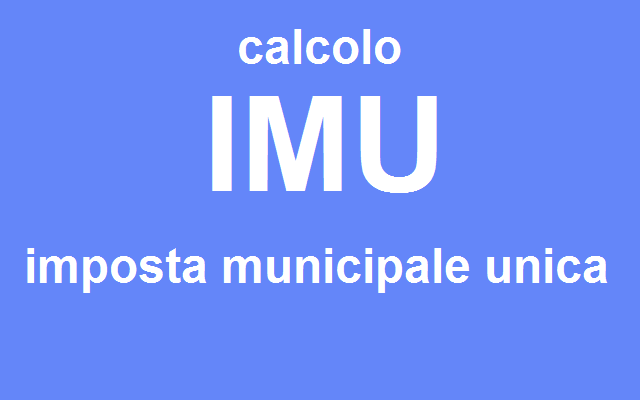 Comune di pieranica iuc - Calcolo imu 2 casa 2014 ...